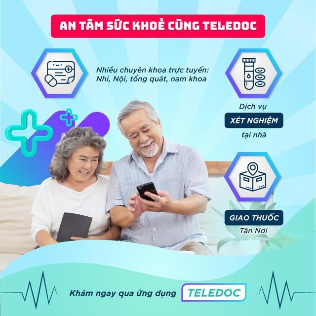 Teledoc - Ứng dụng công nghệ tiên phong trong khám bệnh trực tuyến - Ảnh 1.