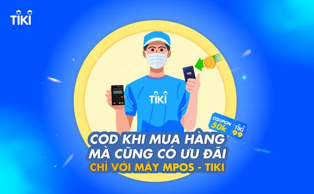 Nhận thêm coupon 50K khi mua sắm online trên Tiki chỉ bằng một động tác đơn giản khi thanh toán - Ảnh 1.