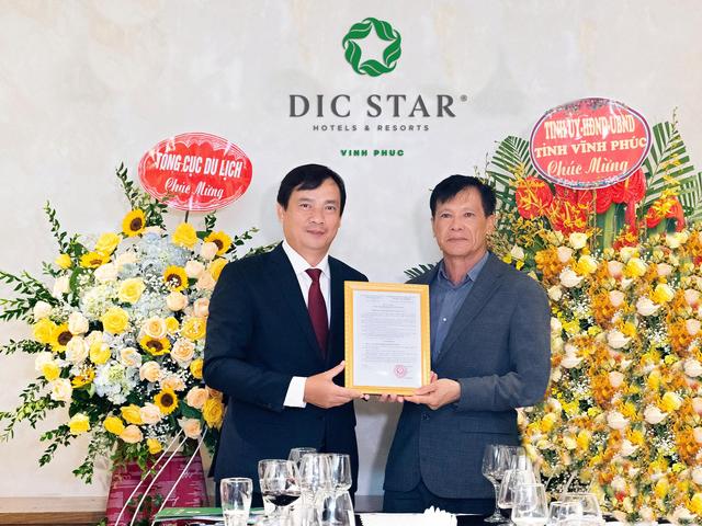 Khách sạn DIC Star Vĩnh Phúc được công nhận đạt chuẩn 5 sao - Ảnh 1.