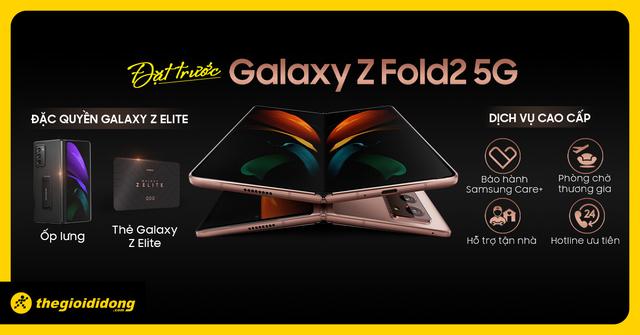 Galaxy Z Fold2 5G - bản nâng cấp đáng giá cho vị thế dẫn đầu - Ảnh 1.