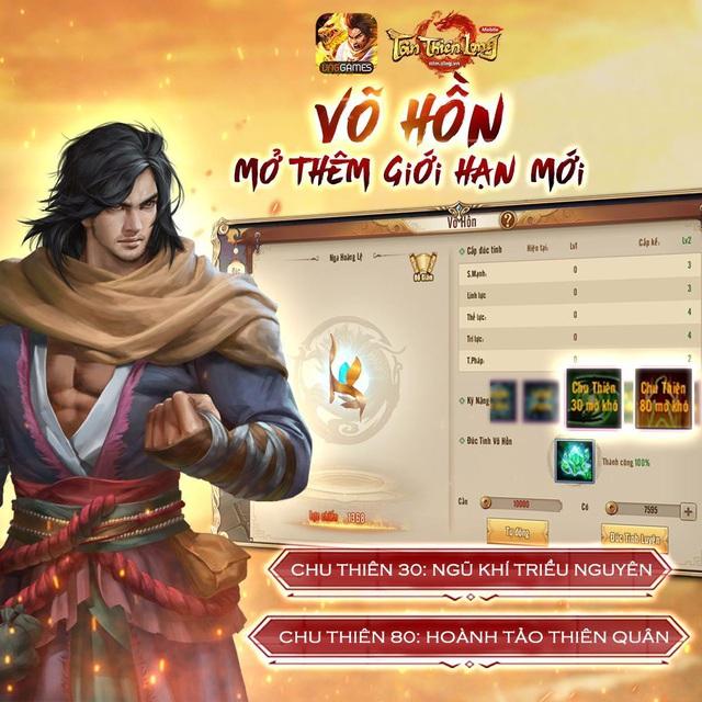 Phiên bản mới ra mắt chưa lâu, Tân Thiên Long Mobile lại rục rịch khai mở server S70 - Ảnh 6.