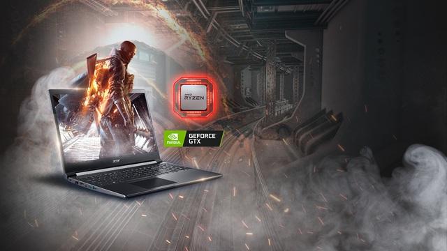 Acer Aspire 7 – Trải nghiệm gaming đích thực ngay trong tầm tay - Ảnh 1.