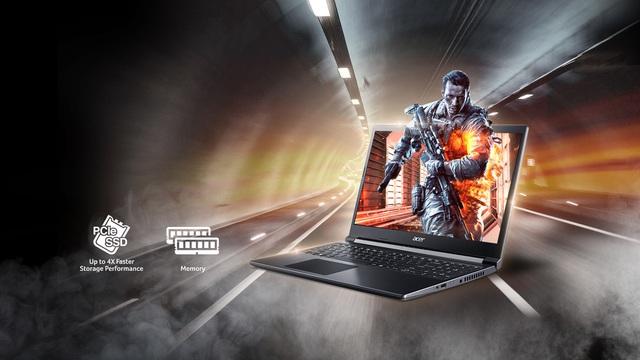 Acer Aspire 7 – Trải nghiệm gaming đích thực ngay trong tầm tay - Ảnh 2.