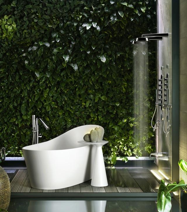 Vietceramics giới thiệu 5 không gian phòng tắm chú trọng đến sức khỏe gia chủ - Ảnh 2.