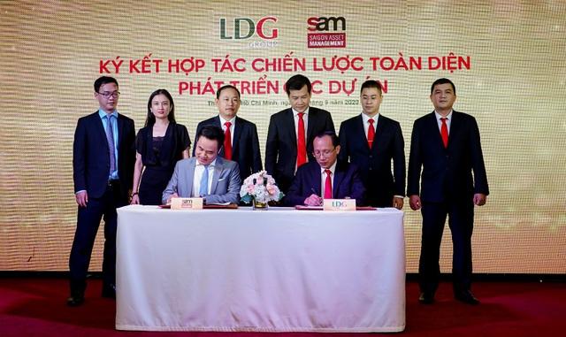 LDG Group bắt tay với quỹ S.A.M và công bố 5 dự án trọng điểm - Ảnh 2.