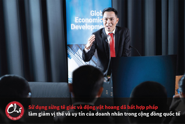 Doanh nhân Việt Nam hãy cùng chung tay bảo vệ động vật hoang dã - Ảnh 2.