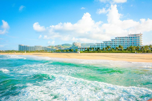 Tập đoàn FLC chuẩn bị khánh thành khách sạn lớn bậc nhất Việt Nam tại Quy Nhơn - Ảnh 8.