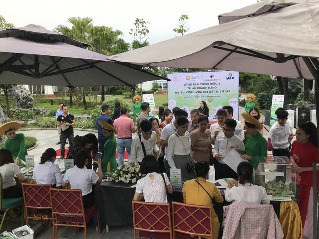 Dự án Vườn Vua Resort & Villas tại Phú Thọ: 66 căn biệt thự đã có chủ ngay trong ngày mở bán - Ảnh 3.