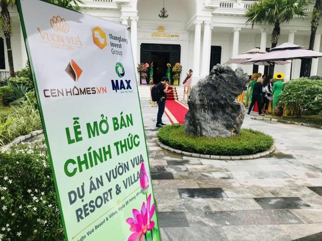 Dự án Vườn Vua Resort & Villas tại Phú Thọ: 66 căn biệt thự đã có chủ ngay trong ngày mở bán - Ảnh 4.