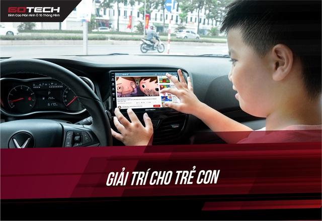 GOTECH đến tận nhà lắp đặt, miễn phí 30 ngày dùng thử màn hình ôtô thông minh - Ảnh 3.