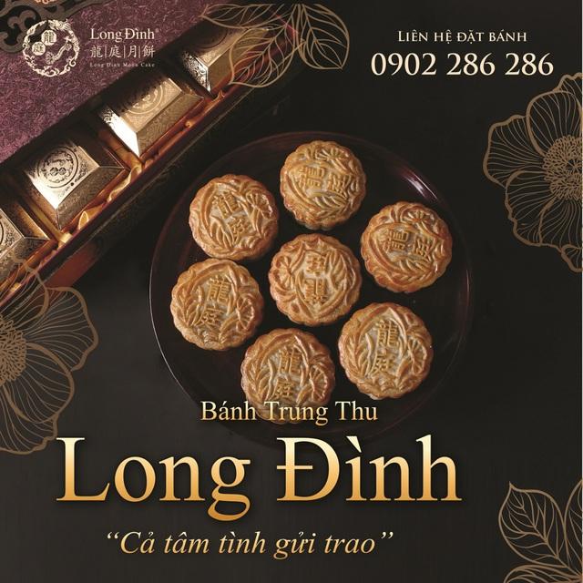 Bánh Trung thu phong cách Hong Kong của Long Đình - Ảnh 1.