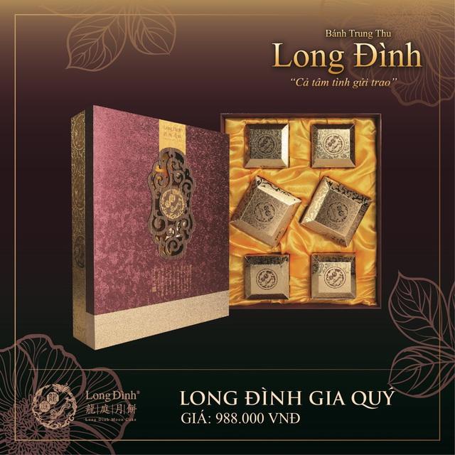 Bánh Trung thu phong cách Hong Kong của Long Đình - Ảnh 2.