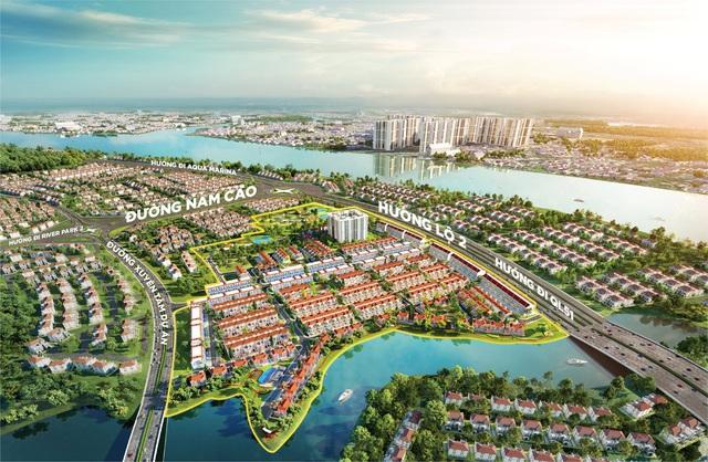 Cầu thủ Nguyễn Anh Đức tìm cơ hội đầu tư tại River Park 1, đô thị Aqua City - Ảnh 1.