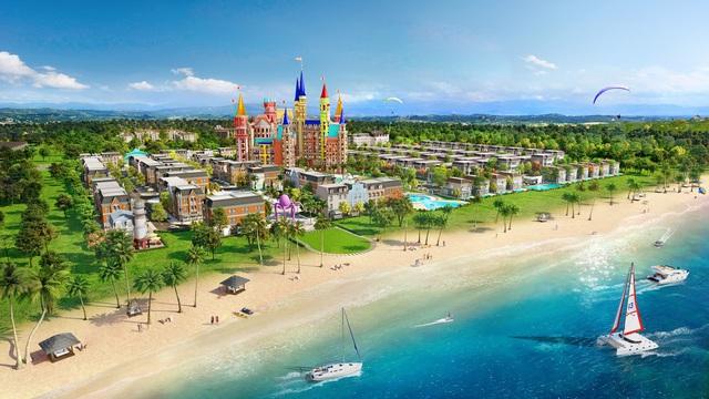 Shophouse biển Wonderland thu hút đầu tư vào Hồ Tràm - Ảnh 1.