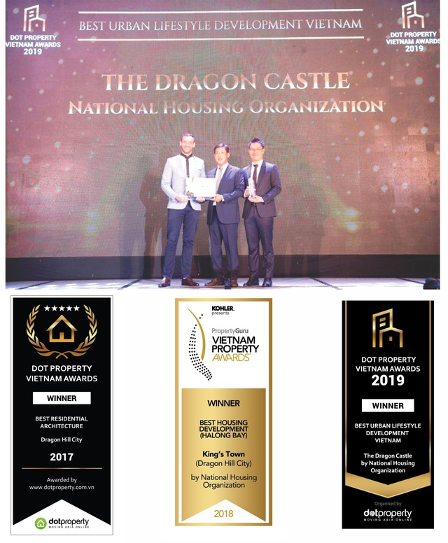 The Dragon Castle Hạ Long được đề cử liên tiếp giải thưởng Quốc tế uy tín - Ảnh 1.