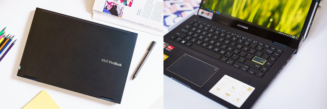 Đánh giá Asus Vivobook Flip 14 TM420: chiếc laptop góp phần thay đổi cách truyền đạt của giới trẻ - Ảnh 1.