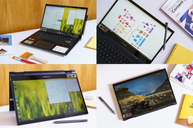 Đánh giá Asus Vivobook Flip 14 TM420: chiếc laptop góp phần thay đổi cách truyền đạt của giới trẻ - Ảnh 2.