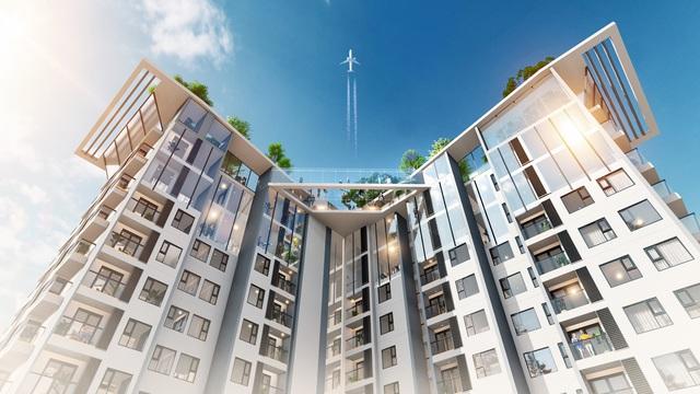 Triển khai toà tháp căn hộ 5 sao đầu tiên tại Ecopark với cầu pha lê trên độ cao 200m - Ảnh 1.