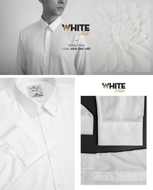 """Aristino """"dệt"""" biểu tượng Việt Nam trên áo sơ mi trắng - Ảnh 3."""