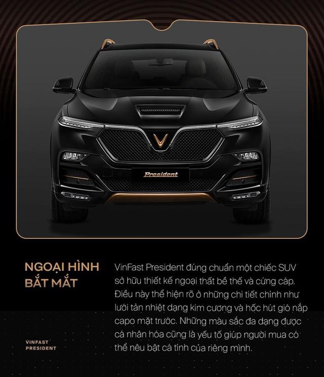 10 điểm giúp VinFast President xứng danh xe của lãnh đạo Việt - Ảnh 1.