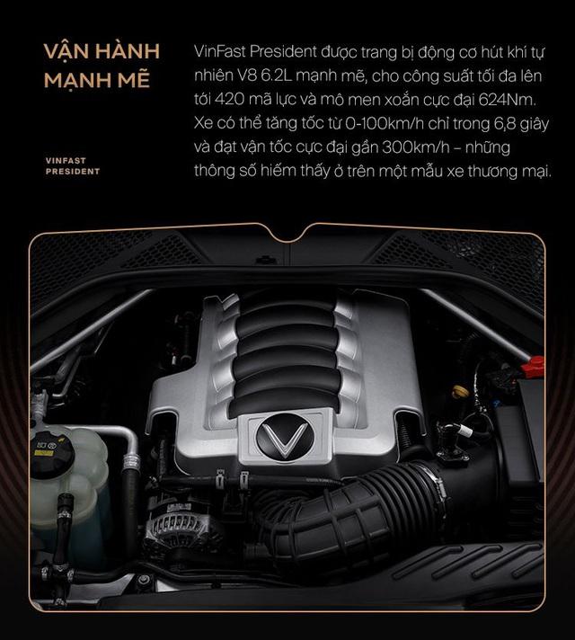 10 điểm giúp VinFast President xứng danh xe của lãnh đạo Việt - Ảnh 6.