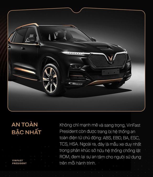 10 điểm giúp VinFast President xứng danh xe của lãnh đạo Việt - Ảnh 9.