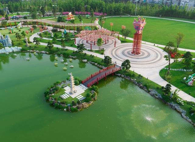 Hình ảnh công viên Nhật Bản Zen Park tại Vinhomes Smart City