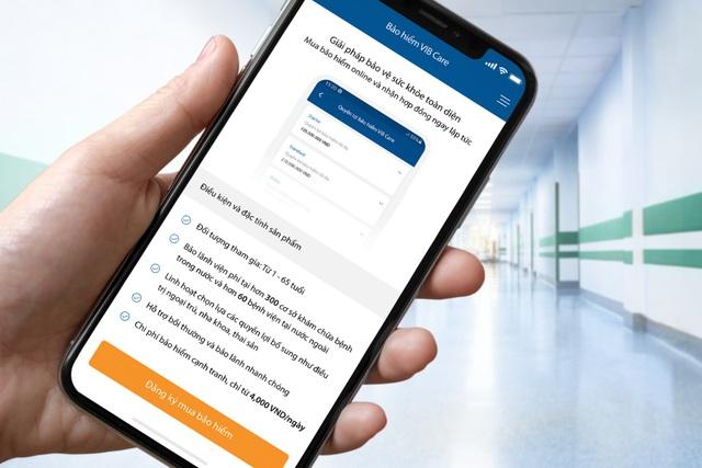 VIB: Lần đầu tiên trên nền tảng ứng dụng Ngân hàng số, khách hàng có thể mua Bảo hiểm sức khỏe toàn diện - Ảnh 1.