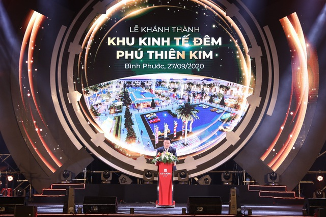 Chính thức khánh thành khu kinh tế đêm tại thành phố Đồng Xoài - Ảnh 1.