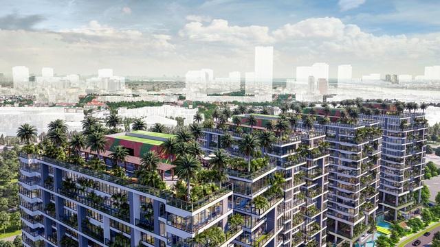 Dự án căn hộ tại Long Biên sở hữu hơn 400 khu vườn thẳng đứng giữa không trung - Ảnh 1.