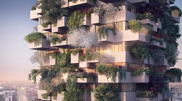 Dự án căn hộ tại Long Biên sở hữu hơn 400 khu vườn thẳng đứng giữa không trung - Ảnh 2.