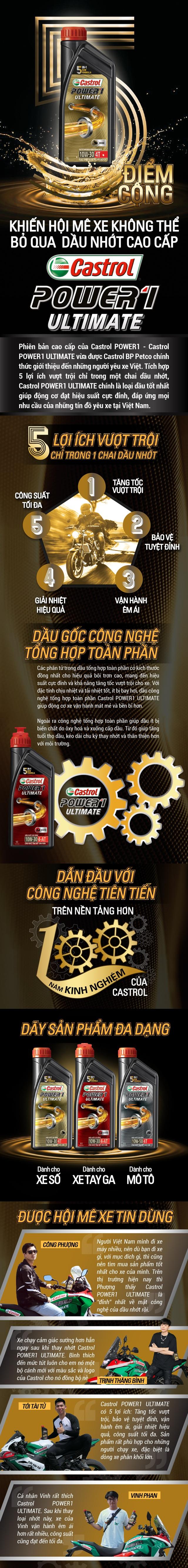 5 điểm cộng khiến hội mê xe không thể bỏ qua dầu nhớt cao cấp Castrol POWER1 ULTIMATE - Ảnh 1.