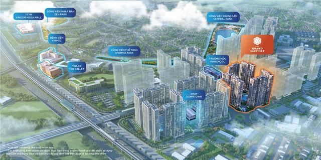 Vinhomes Smart City chính thức ra mắt phân khu đắt giá The Grand Sapphire - Ảnh 1.