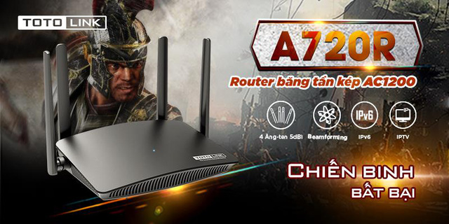Smooth game battle with TOTOLINK A720R cheap AC Wifi Router - Photo 1.