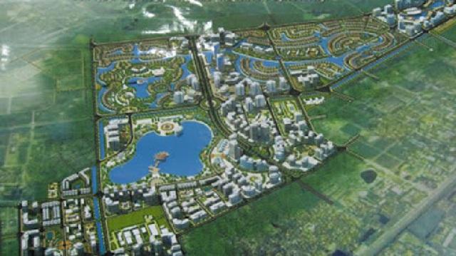 Dự án căn hộ tại Long Biên sở hữu hệ thống suối và thác nước liên hoàn hàng trăm mét - Ảnh 1.