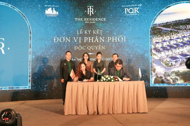 Lễ ký kết phân phối The Residence Phú Quốc giữa Hạ Tầng Đô Thị Corp và Địa ốc PQR - Ảnh 1.