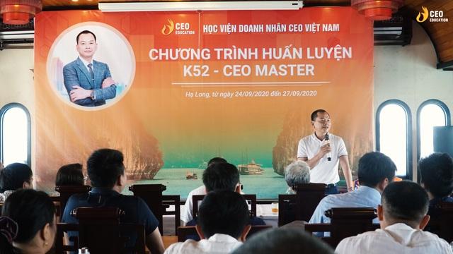 Những dấu ấn khó quên trong chương trình huấn luyện CEO MASTER của Học viện Doanh Nhân CEO Việt Nam - Ảnh 1.