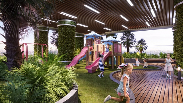 Dự án căn hộ tại Long Biên sở hữu hệ thống suối và thác nước liên hoàn hàng trăm mét - Ảnh 10.