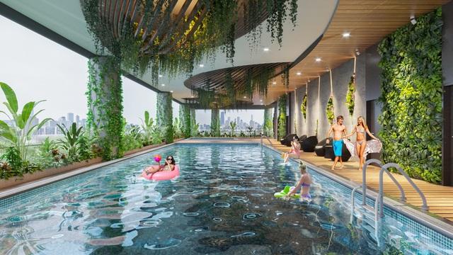Dự án căn hộ tại Long Biên sở hữu hệ thống suối và thác nước liên hoàn hàng trăm mét - Ảnh 11.