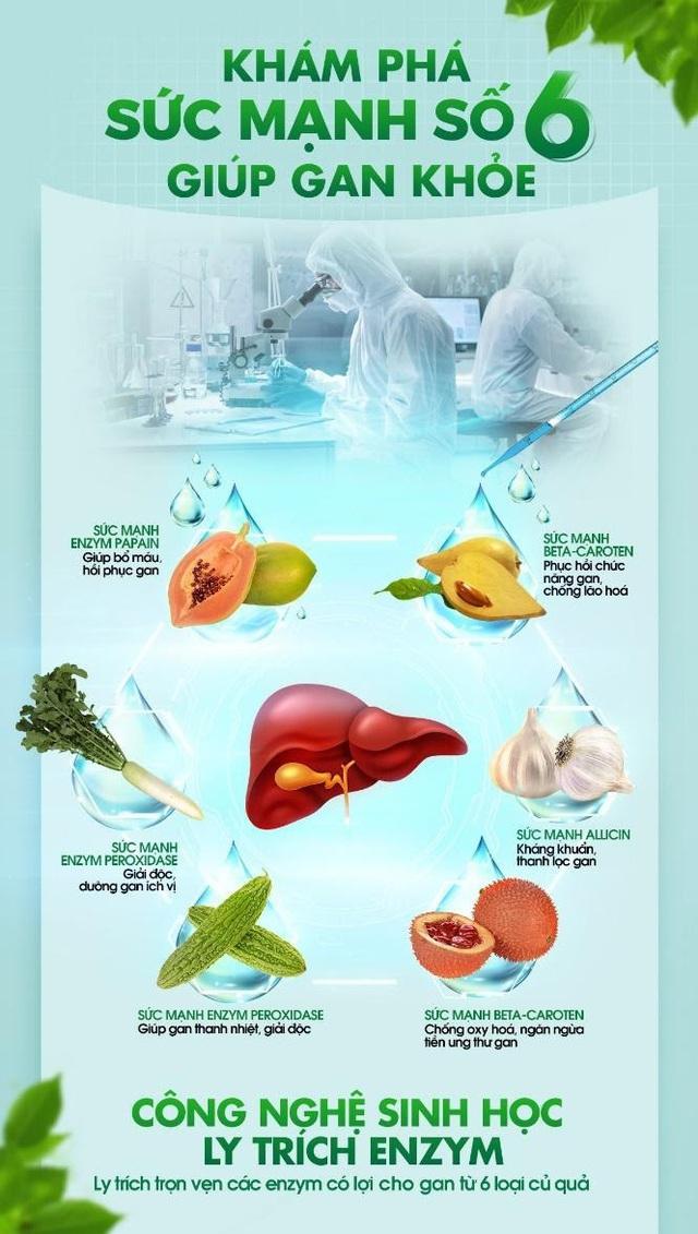 Công nghệ sinh học trong giải độc gan - Lựa chọn hiệu quả để bảo vệ sức khỏe toàn diện - Ảnh 2.