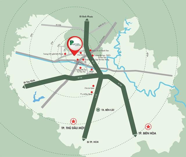 Dự án bước đệm đô thị xanh tại Bàu Bàng - Ảnh 3.