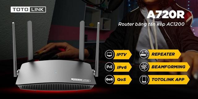 Chiến game mượt mà với Router Wifi AC giá rẻ TOTOLINK A720R - Ảnh 5.