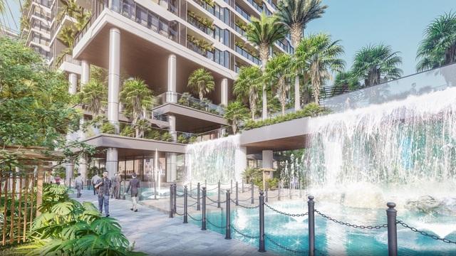 Dự án căn hộ tại Long Biên sở hữu hệ thống suối và thác nước liên hoàn hàng trăm mét - Ảnh 4.