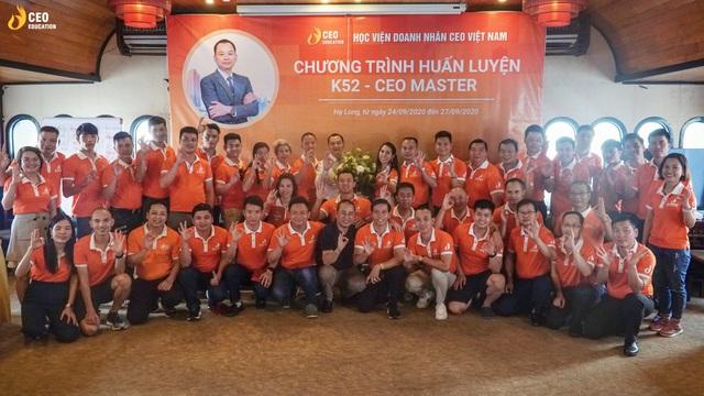 Những dấu ấn khó quên trong chương trình huấn luyện CEO MASTER của Học viện Doanh Nhân CEO Việt Nam - Ảnh 3.