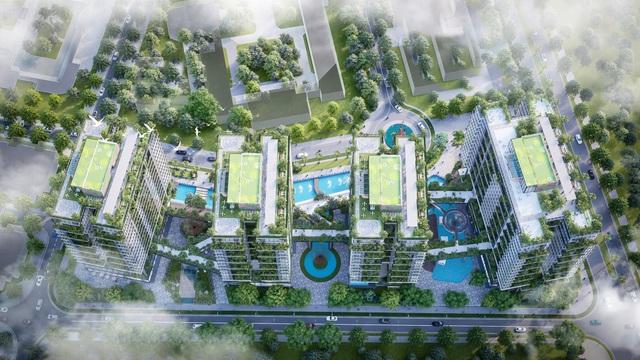 Dự án căn hộ tại Long Biên sở hữu hệ thống suối và thác nước liên hoàn hàng trăm mét - Ảnh 6.