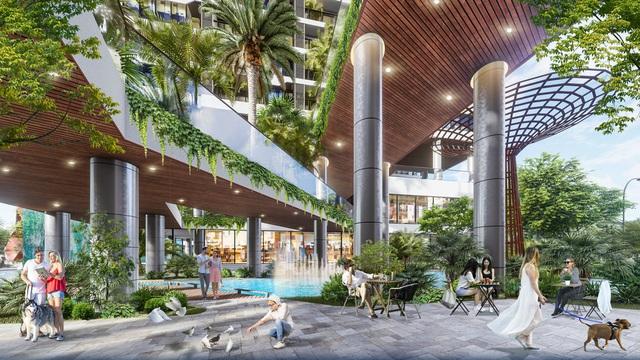 Dự án căn hộ tại Long Biên sở hữu hệ thống suối và thác nước liên hoàn hàng trăm mét - Ảnh 7.