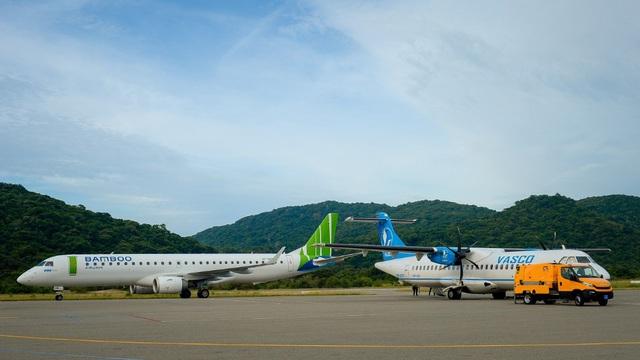 Cận cảnh trải nghiệm dịch vụ Thương gia trên đường bay tới Côn Đảo - Ảnh 2.