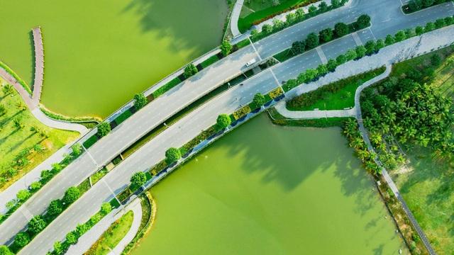 """Check in """"sương sương"""" những cây cầu đẹp mê hồn tại Ecopark - Ảnh 4."""