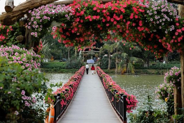 """Check in """"sương sương"""" những cây cầu đẹp mê hồn tại Ecopark - Ảnh 6."""