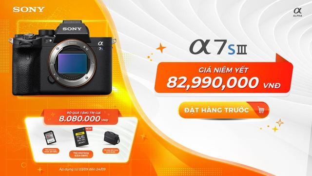 Sony Alpha 7S III - nâng tầm hình ảnh cho người tiên phong chinh phục mọi thách thức - Ảnh 1.